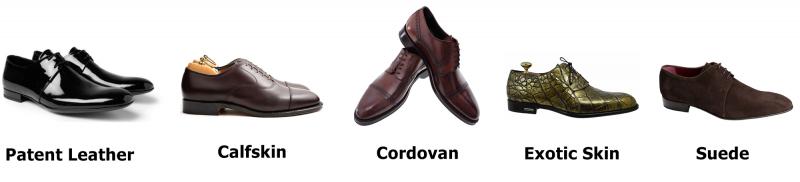 Các loại giày tây và độ sang trọng