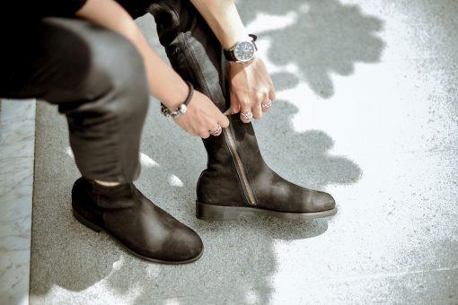 giày tây cao cổ nam
