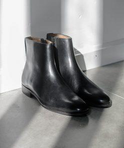 giày da boot nam