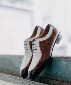 giày tây da nam cnes shoemaker